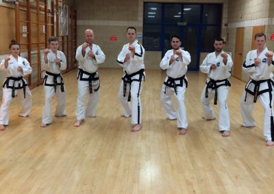 UKTD Black Belts group photo