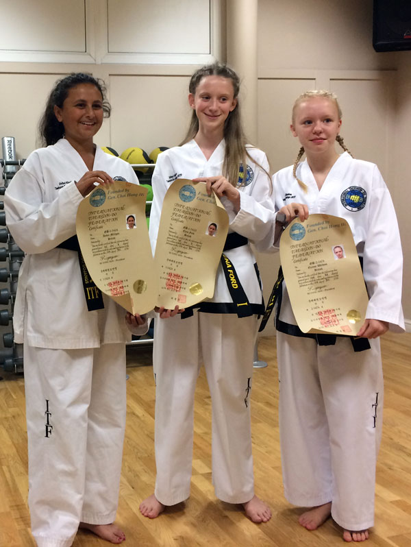 UKTD Black Belt promotions July 2016