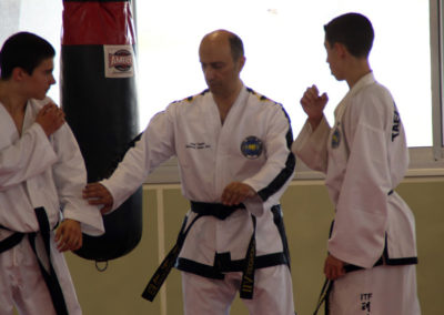Master Moradoff Instruction on Sparring techniques