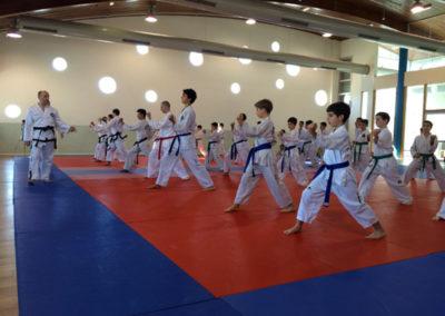 Master Moradoff leading the session