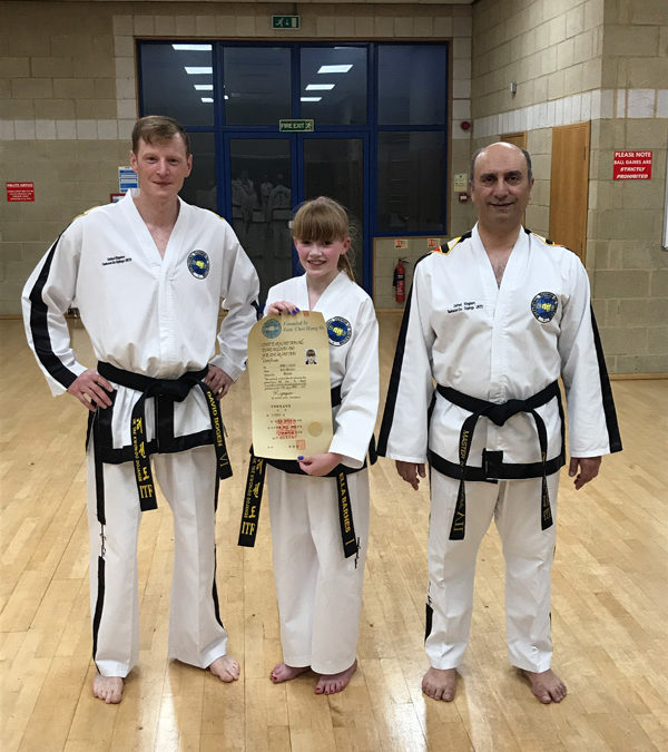 UKTD Black Belt Promotion