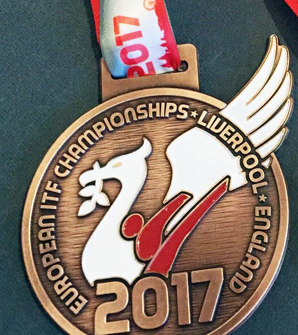 UKTD Representation at the ITF European Taekwon-Do Championship, Liverpool, April 2017