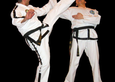 UKTD Black Belts action photo