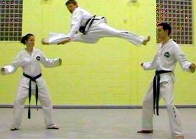 UKTD Black Belts action photo