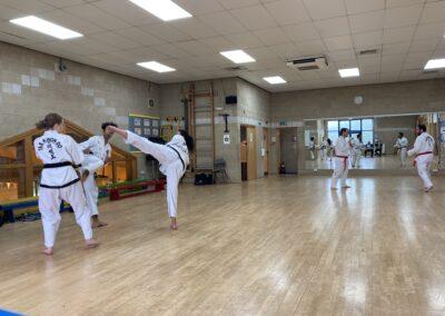 UKTD Black Belt grading July 2021 J